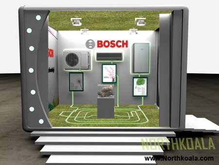 Mobile Truck for Bosch / Concept Design