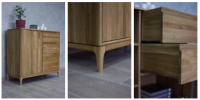 Sideboard from the massif of an oak.(NEW)