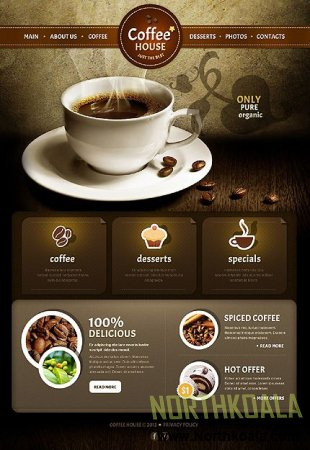 Coffe Shop  Teamplate
