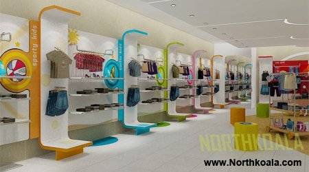 Baby Clothing Store showroom Design